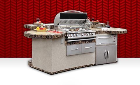 Outdoor BBQ Kitchens, BBQ Islands, BBQ Grills, BBQ Carts ...