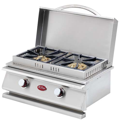Outdoor bbq grill island patio oven and burner for Drop in grills for outdoor kitchens